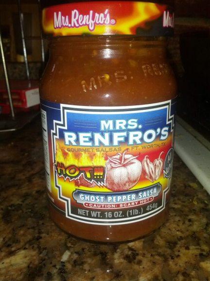 Mrs. Renfro's Ghost Chili Salsa