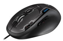 The Logitech G500s -- another good gaming product from Logitech, although not among their very best.