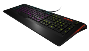 The SteelSeries Apex may not be mechanical, but it's still a top notch gaming keyboard.