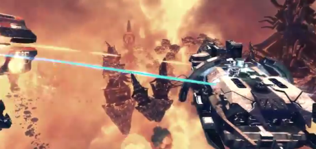 Ancient Space looks like the 3D star battle RTS fans of the Homeworld franchise would love.