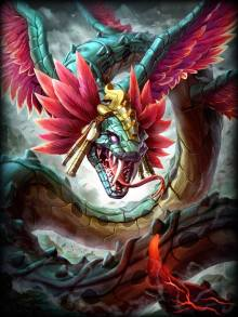 Meet Kukulkan, formerly Ao Kuang now turned Mayan God.