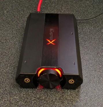Creative Labs SoundblasterX G5 7.1 USB portable sound card/amplifier picture