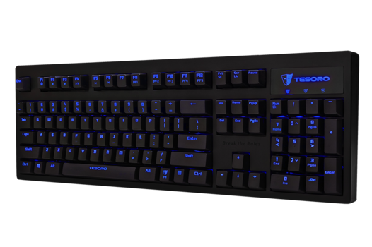 Tesoro Excalibur V2 mechanical gaming keyboard.