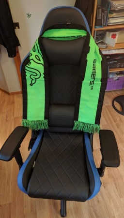 RapidX Ferrino Gaming Chair (Credit: Bryan Edge-Salois)