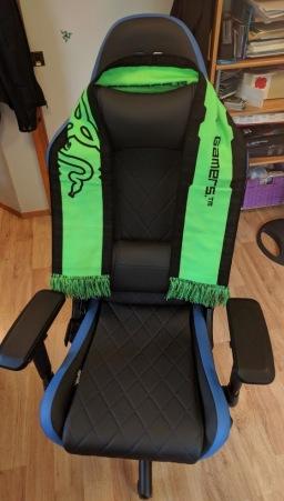 RapidX Ferrino Gaming Chair (Credit: Bryan Edge-Salois)