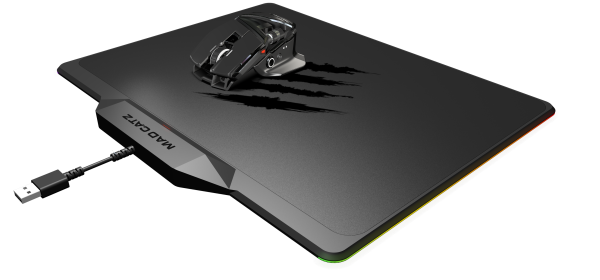 Mad Catz Rat Air gaming mouse and surface