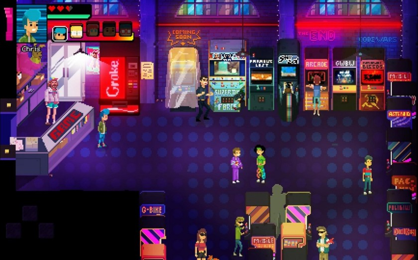 Review Crossing Souls Is An Awesome 80s Arcade Adventure
